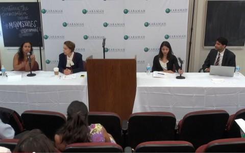 Panel Discussion – 3 cameras